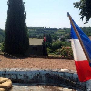 Commemoration du debarquement 2015 au Beau site